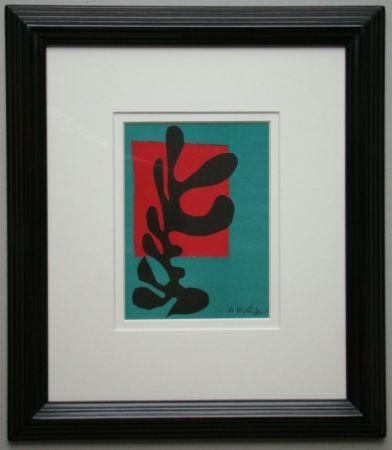 Литография Matisse - Boxeur nègre