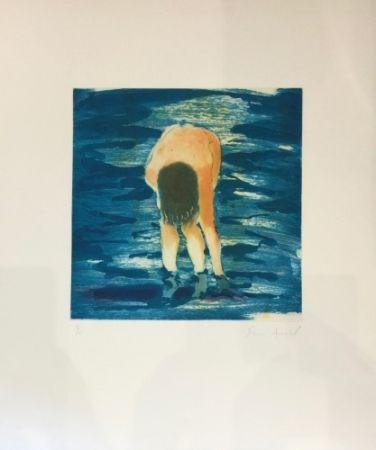 Многоэкземплярное Произведение Fischl - Boy in Blue Water