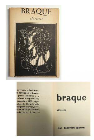 Иллюстрированная Книга Braque - Braque dessins (1955)