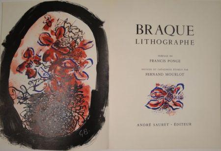 Иллюстрированная Книга Braque - Braque Lithographe
