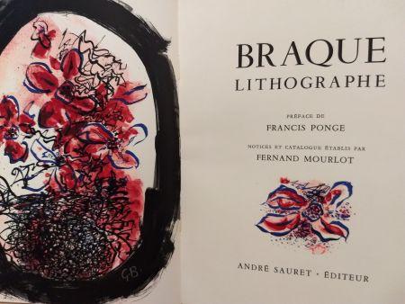 Иллюстрированная Книга Braque - Braque Lithographie