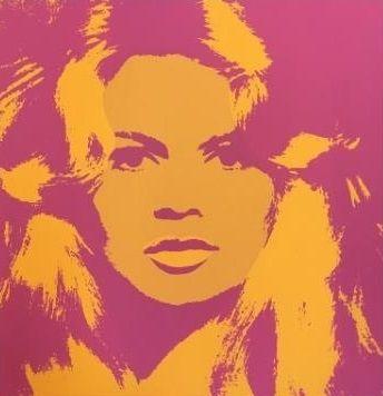 Сериграфия Warhol (After) - Brigitte Bardot