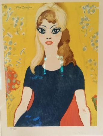 Литография Van Dongen - Brigitte Bardot