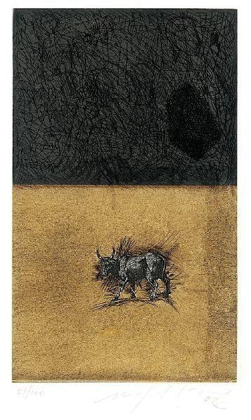 Акватинта Paladino - Bull
