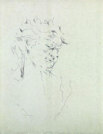 Гравюра Paul P - Bust de la Bacant II