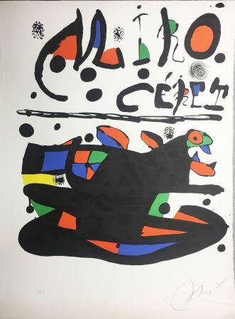 Литография Miró - CÉRET. Lithographie originale signée ( 1977).