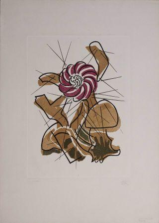 Гравюра Ray - Cactus danzante