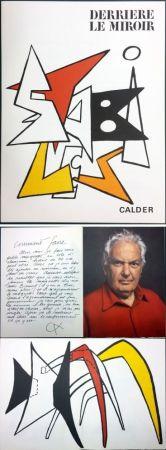 Иллюстрированная Книга Calder - CALDER. STABILES. Derrière le Miroir n° 141. 8 LITHOGRAPHIES ORIGINALES (1963)