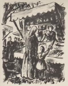 Иллюстрированная Книга Bouleau - Campagne. Lithographies de Charles Bouleau.