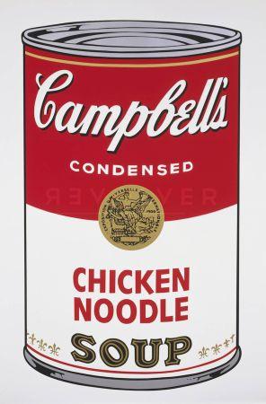 Сериграфия Warhol - Campbell's Soup I: Chicken Noodle (Fs Ii.45)