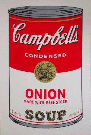 Сериграфия Warhol - Campbell's Soup I: Onion (FS II.47)