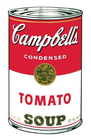 Сериграфия Warhol - Campbell's Soup I: Tomato (FS II.46)