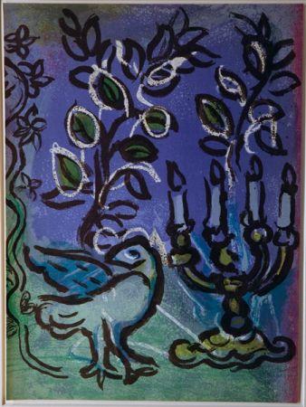 Литография Chagall - Candlestick