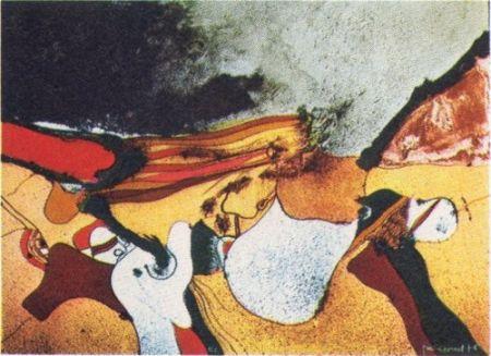 Литография Guinovart - Cap a fora