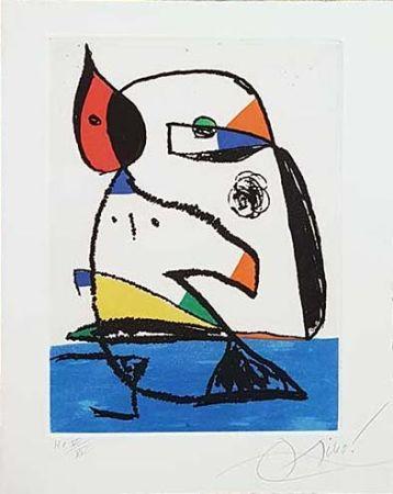 Гравюра Miró - Carnets Catalans