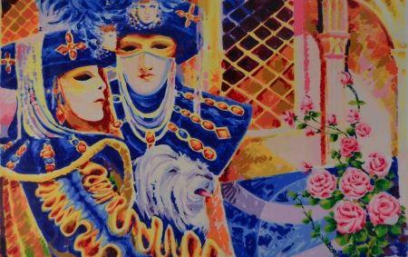 Сериграфия Faccincani - Carnevale veneziano