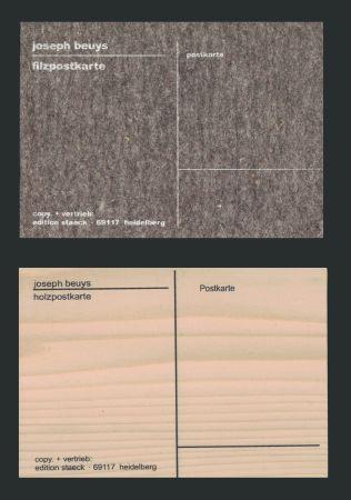 Сериграфия Beuys - Cartes Postales