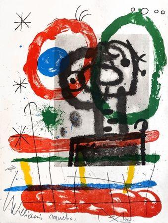 Литография Miró - Cartones