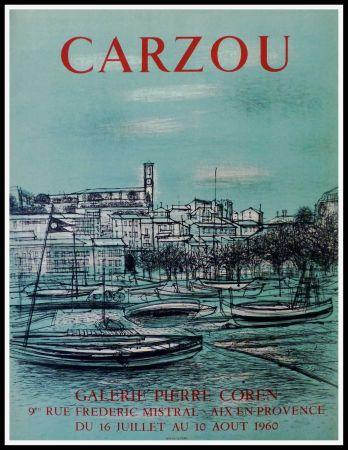 Афиша Carzou - CARZOU GALERIE PIERRE COREN, AIX EN PROVENCE