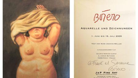 Нет Никаких Технических Botero - Catalogue dédicacé