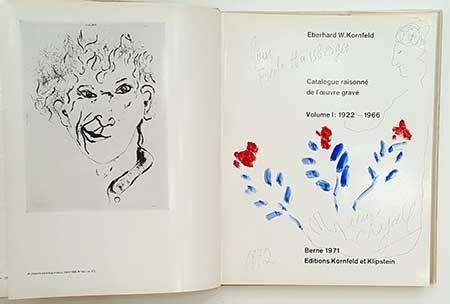 Иллюстрированная Книга Chagall - Catalogue de l'oeuvre gravé - dessin
