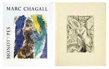 Иллюстрированная Книга Chagall - Catalogue des monotypes