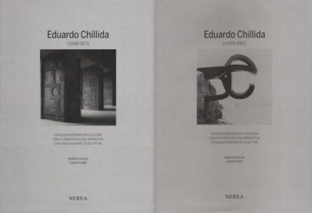 Иллюстрированная Книга Chillida - Catalogue raisonné of Sculpture 2 Volumes