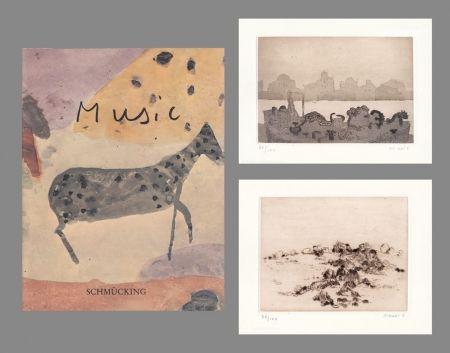Гравюра Music - Catalogue Schmücking