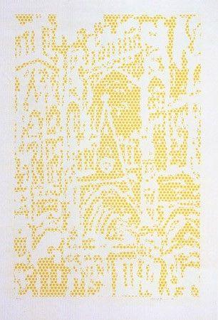 Литография Lichtenstein - Cathedral I