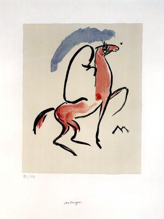 Литография Van Dongen - Cavalier Arabe