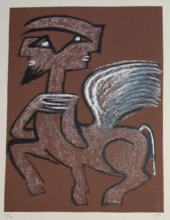 Сериграфия Matta - Centaur Hemaphrodite