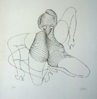 Офорт Bellmer - Cephalopode double
