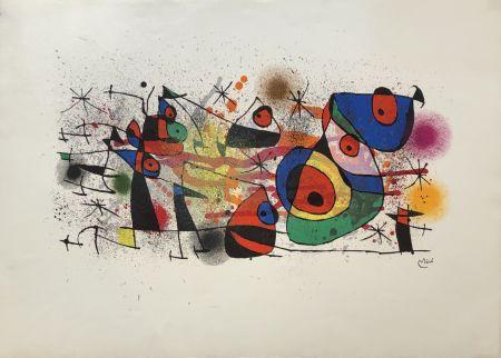 Литография Miró - Ceramiques