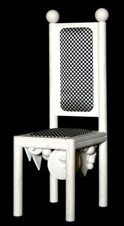 Литография Del Pezzo - Chair