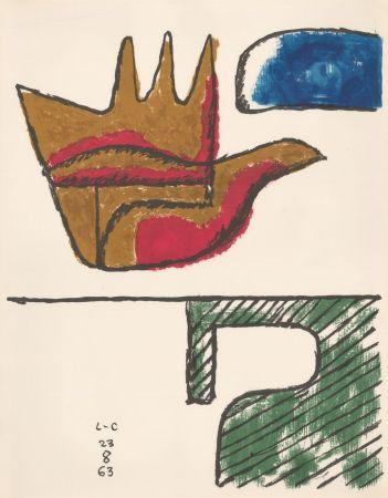 Литография Le Corbusier - Chandigarh Open Hand