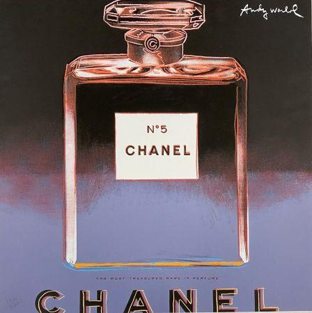 Гашение Warhol - Chanel No. 5 (Blue),