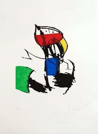 Гравюра Miró - Chanteurs Des Rues