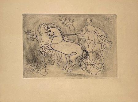 Гравюра Braque - Char