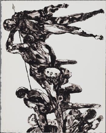 Литография Landau - Charades