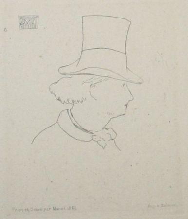 Нет Никаких Технических Manet - Charles Baudelaire, In Profile II