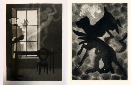 Иллюстрированная Книга Alexeïeff - Charles Baudelaire : PETITS POÈMES EN PROSE. Eaux-fortes d'Alexeieff (1934).