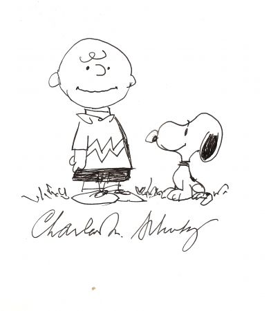 Нет Никаких Технических Schulz - Charlie Brown and Snoopy