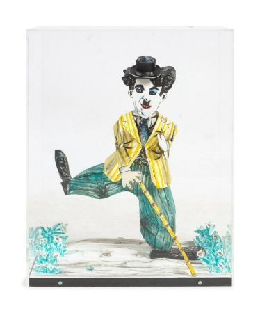 Литография Grooms - Charlie Chaplin