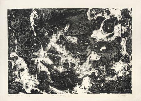 Литография Dubuffet - Chars et chevaux célestes