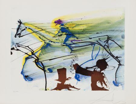 Литография Dali - Cheval de Course (26)