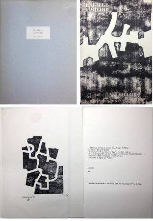 Иллюстрированная Книга Chillida - CHILLIDA SCULPTURES. Derrière Le Miroir n° 174. Nov. 1968. TIRAGE DE LUXE SIGNÉ.