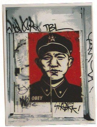 Сериграфия Fairey - Chinese San Francisco
