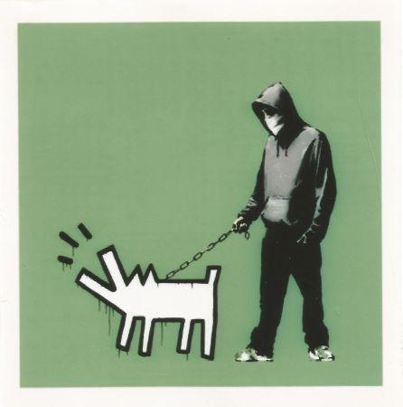 Сериграфия Banksy - Choose your weapon - Slate
