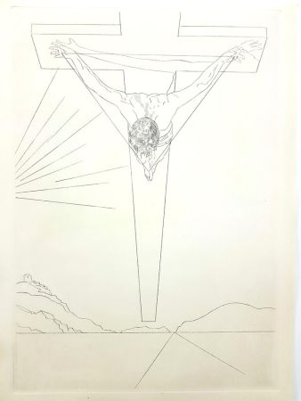 Литография Dali - Christ of St John of the Cross