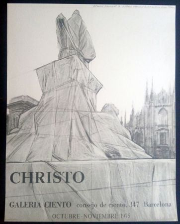 Афиша Christo - Christo - Galeria Ciento 1975